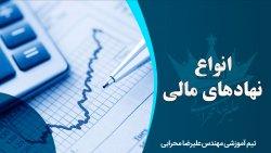تعریف نهاد مالی و معرفی انواع نهادهای مالی