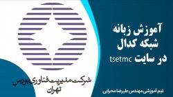 آموزش زبانه شبکه کدال در سایت tsetmc