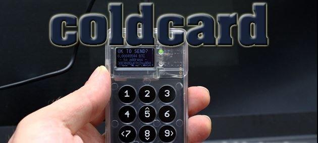 کیف پول سخت افزاری Coldcard Mk3