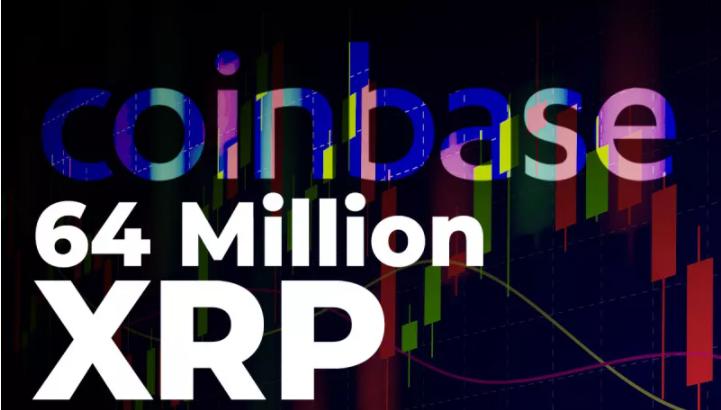 64 میلیون XRP در کوینبیس و دیگر پلتفرم های برتر جهانی جابجا شد