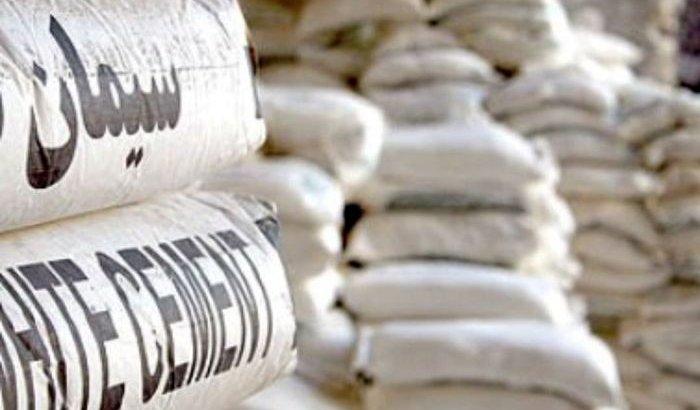 چوب حراج صنعت سیمان به تولیدات