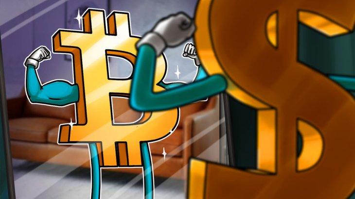 طرفداران ارز دیجیتال بیت کوین علیه دلار آمریکا