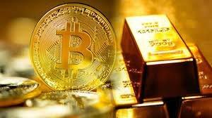 رشد قیمتی بیت کوین در سال 2022 بیشتر از طلا خواهد بود