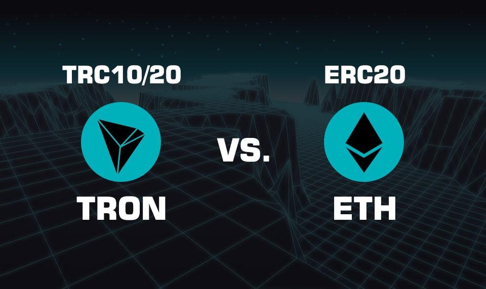 تفاوت ERC20 با TRC20