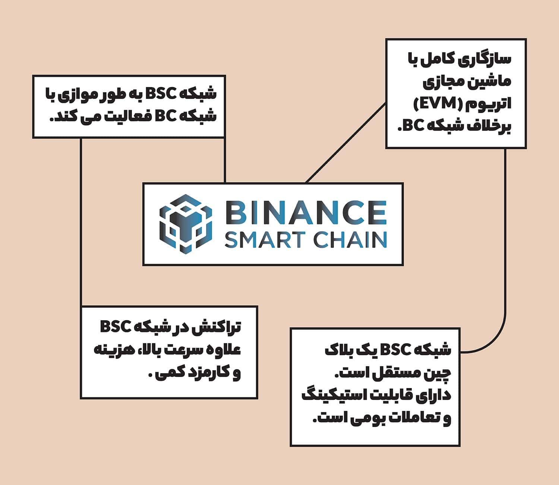 دیگر ویژگی های شبکه BSC