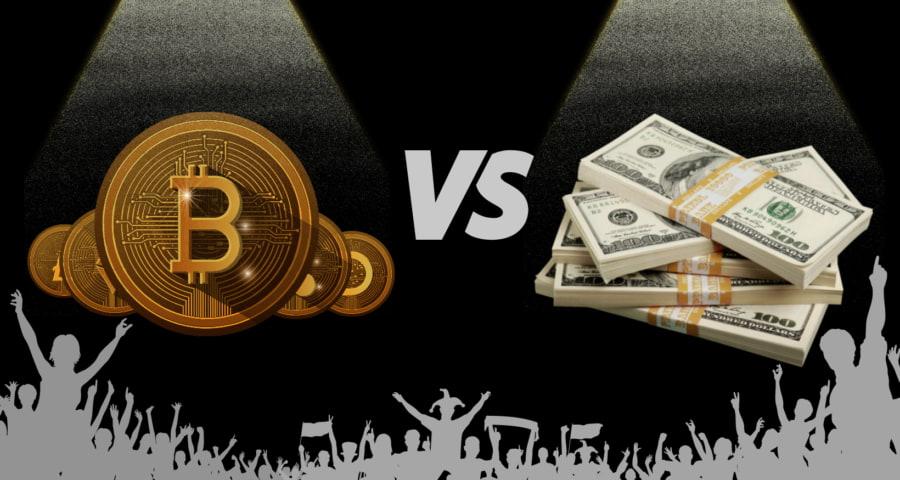 رقابت رمزارزها با پول فیات برای روش پرداخت
