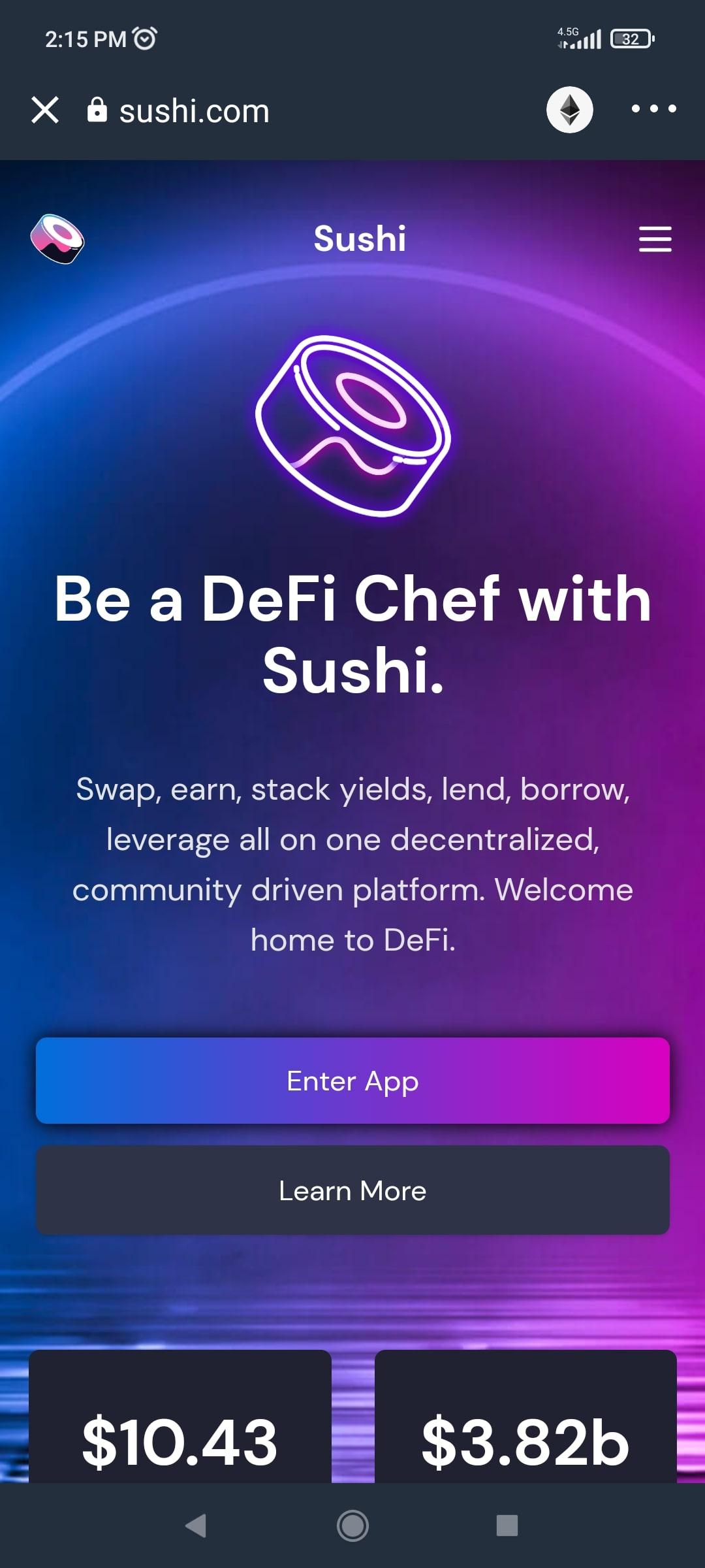 آموزش کار با سوشی سواپ