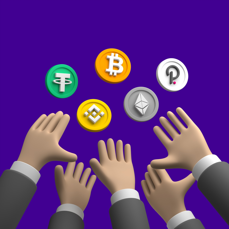 انواع کوین ها در بازار مالی ارزهای دیجیتال