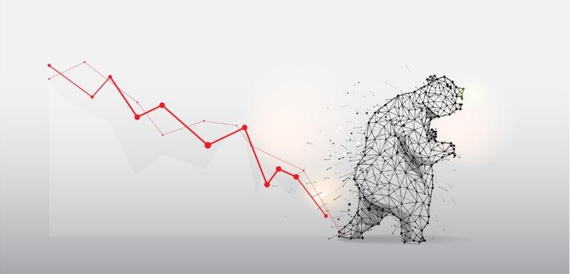 رفتار خرس در بازار ارزهای دیجیتال