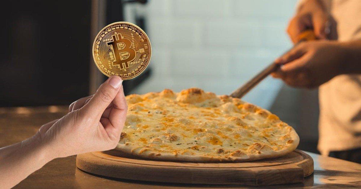 خرید پیتزا با بیت کوین