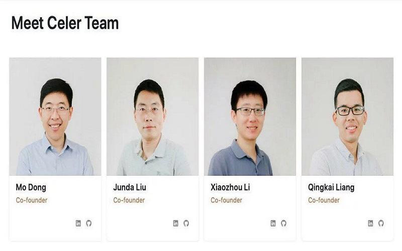 تیم اصلی ارز دیجیتال Celer