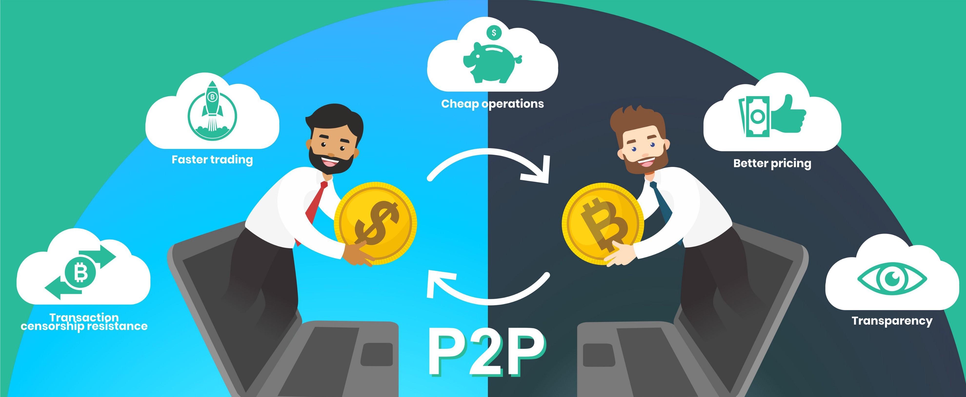 مبادله ارز P2P چیست؟